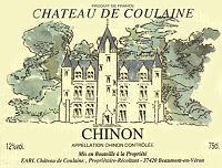 Etiquette cuvée Château de Coulaine