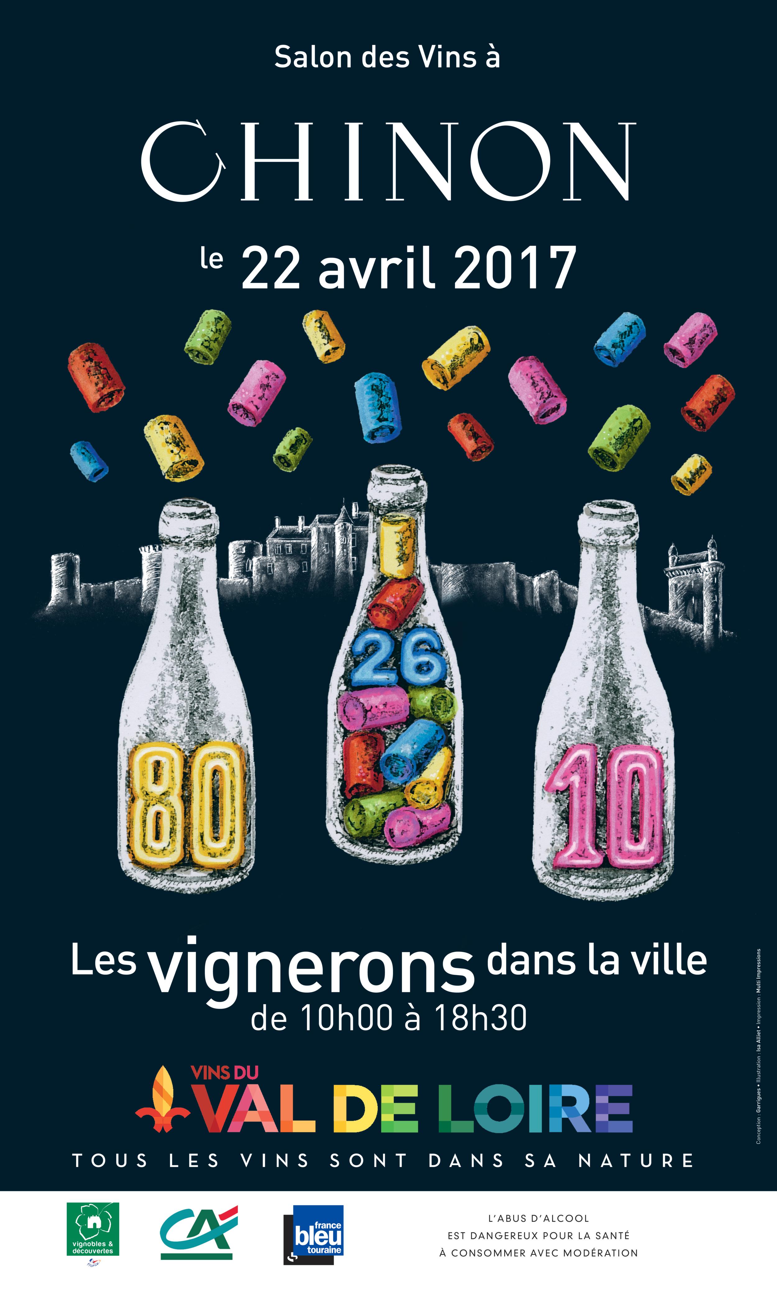 Exp rimentez chinon vins de chinon for Salon du vin reims 2017
